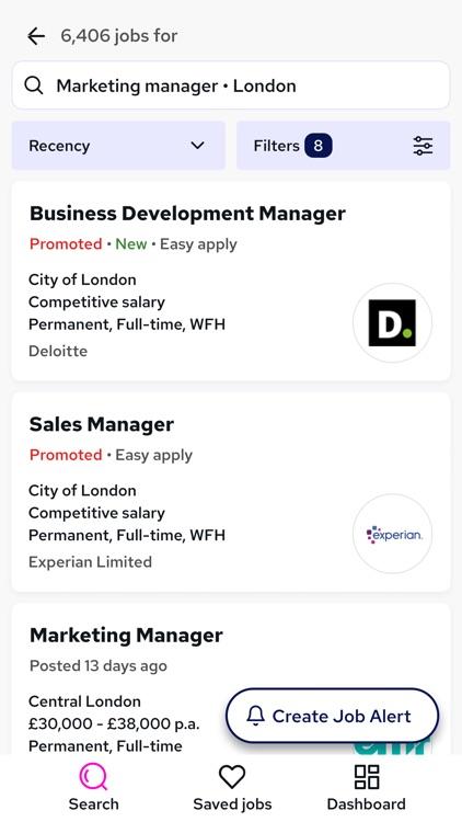 Reed.co.uk Job Search screenshot-7