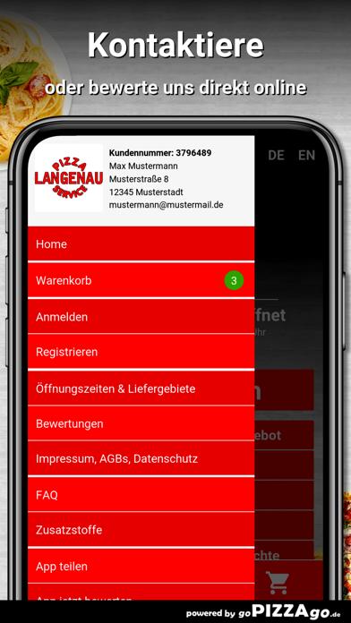 Langenau Pizza Service Langena screenshot 3