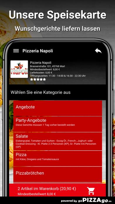 Pizzeria Napoli Marl screenshot 4