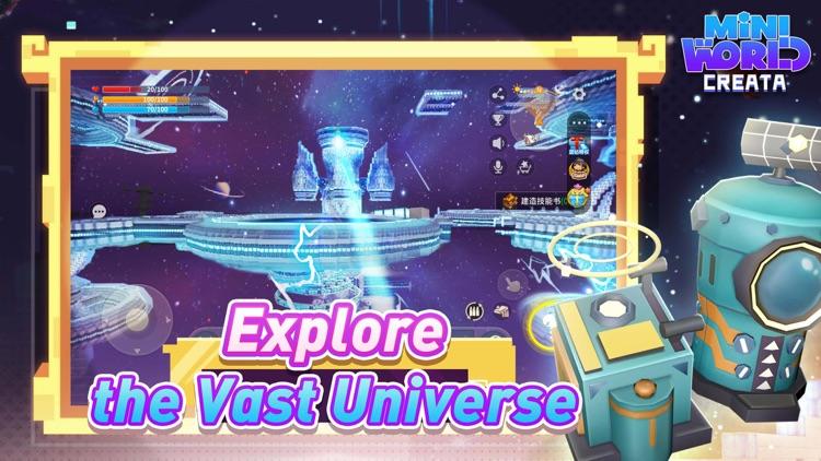 Mini World: CREATA screenshot-3