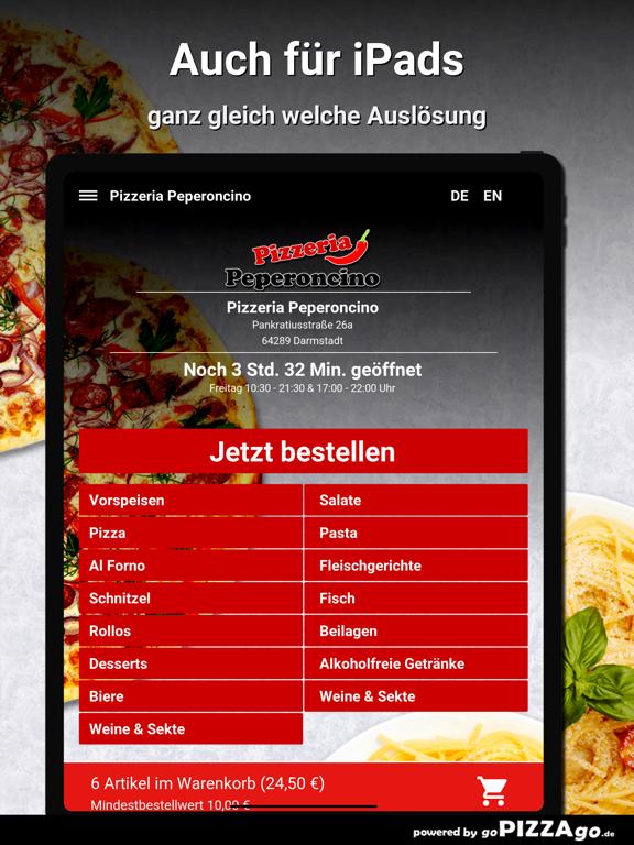 Pizzeria Peperoncino Darmstadt screenshot 7