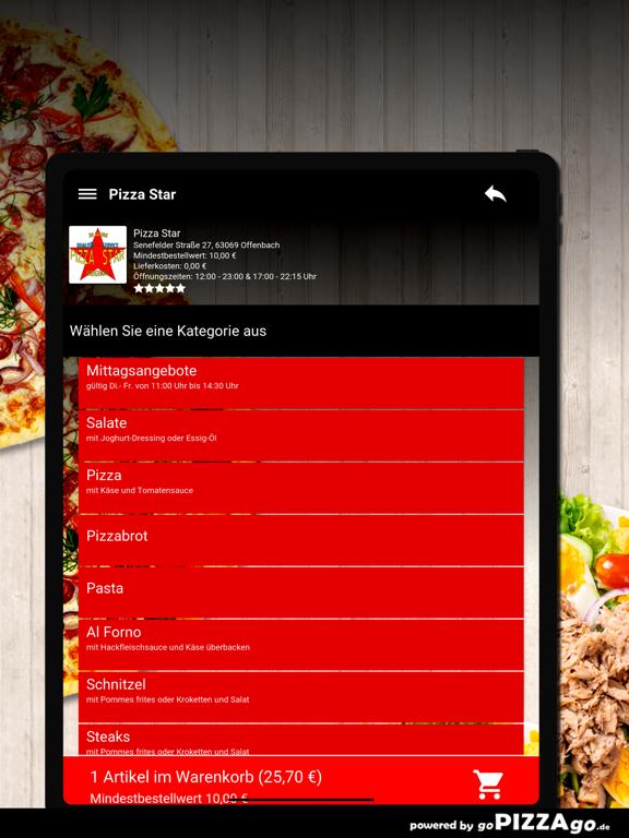 Pizza Star Offenbach screenshot 8
