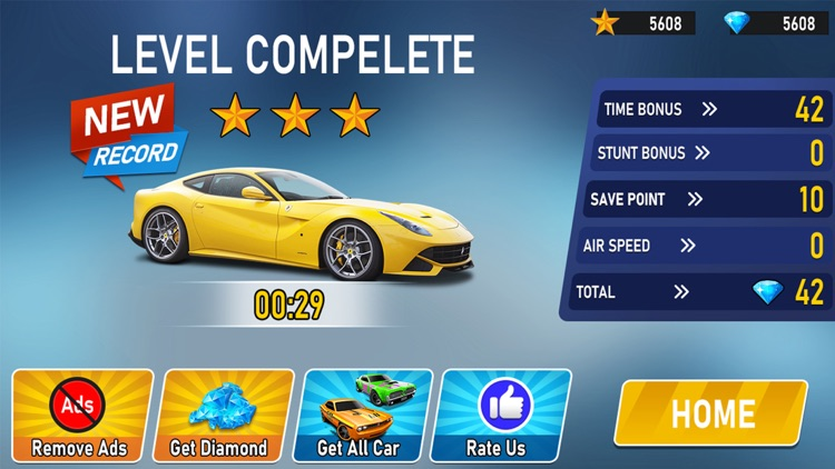Ramp Car Stunts 3D GT Racing screenshot-4