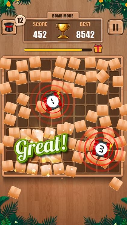 Wooden 100 Block - Hexa Puzzle screenshot-6