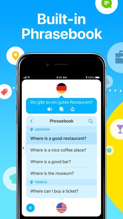 Dialog - Translate Speech screenshot-5