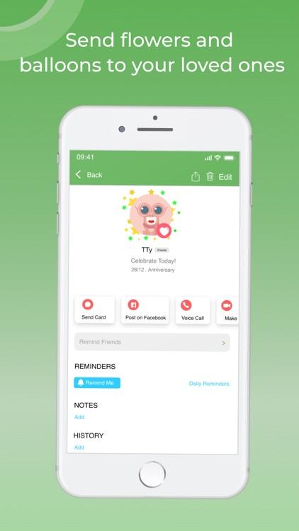 Todili : Birthday Reminder screenshot-3