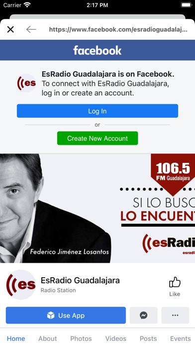 esRadio Guadalajara screenshot 3