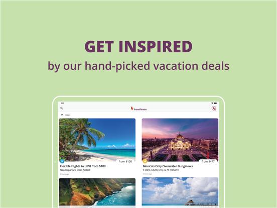 TravelPirates Flights & Hotels screenshot