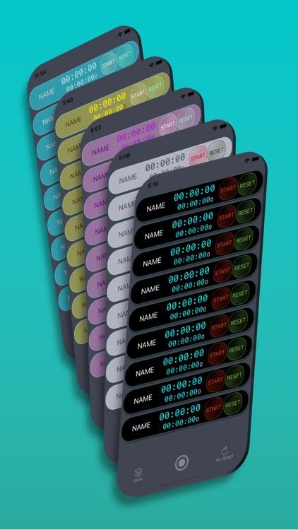 Multi-Timer; Stopwatch & Timer screenshot-6