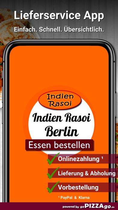 Indien Rasoi Berlin screenshot 1