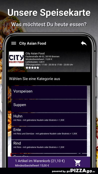 City Asian Food Bremen screenshot 4