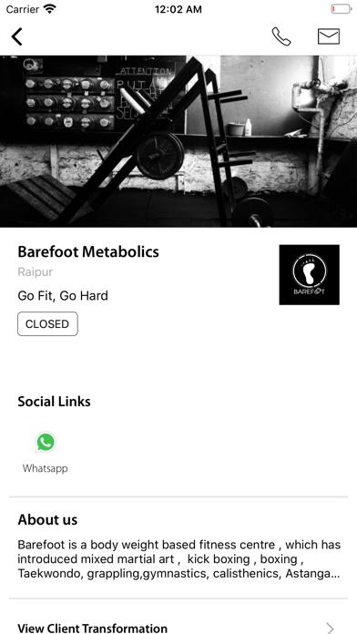Barefoot Metabolics screenshot 3