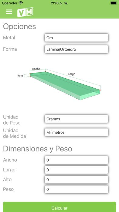 VeriMetal screenshot 1