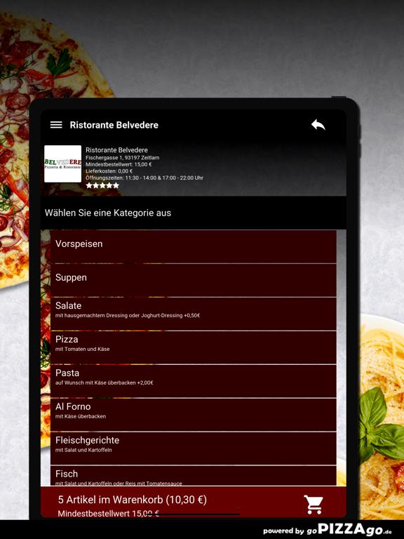 Ristorante Belvedere Zeitlarn screenshot 8