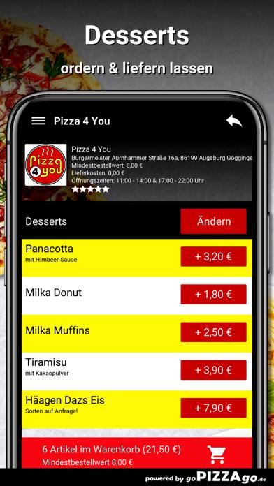 Pizza 4 You Augsburg screenshot 6