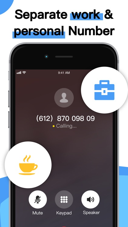 Phone Number-Text + Line Calls
