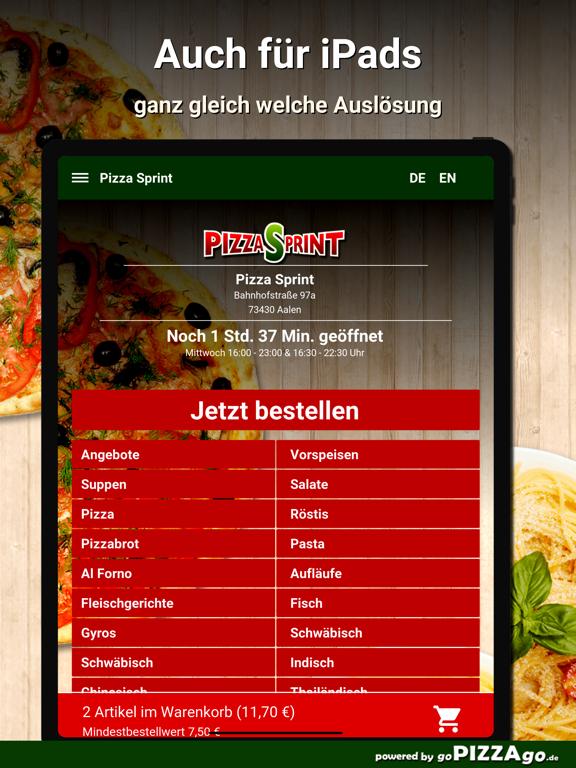 Pizza Sprint Aalen screenshot 7
