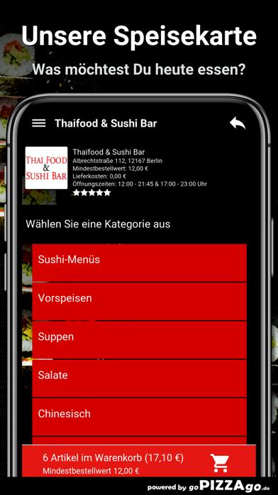 Thaifood & Sushi Bar Berlin screenshot 4