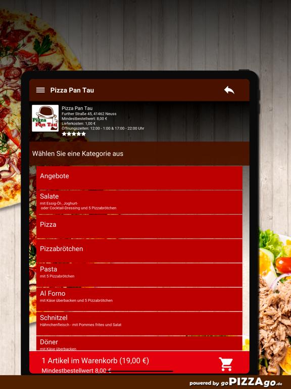 Pizza Pan Tau Neuss screenshot 8