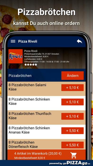 Pizza Rivoli Dresden screenshot 5