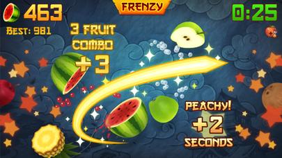 Screenshot from Fruit Ninja®