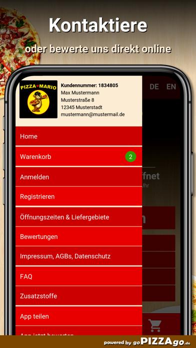 Pizza Mario Iserlohn screenshot 3