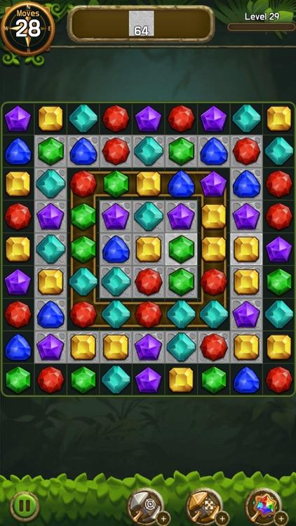 Jewel & Gem Crush-Match Master screenshot-4