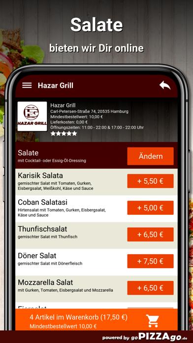 Hazar Grill Hamburg screenshot 5