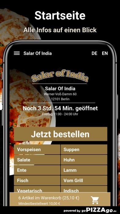 Salar Of India Berlin screenshot 2