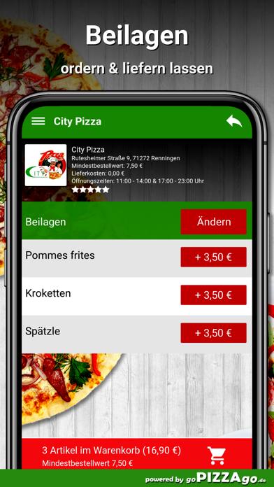 City Pizza Renningen screenshot 6