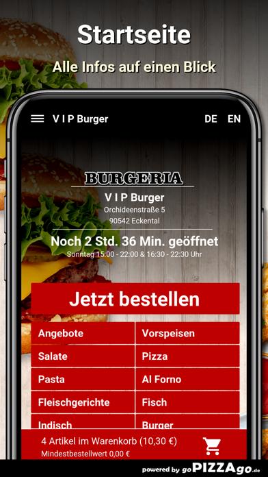V I P Burger Eckental screenshot 2