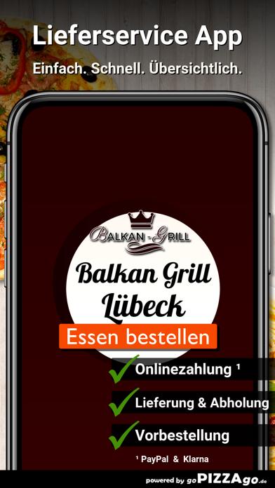 Balkan-Grill Lübeck screenshot 1