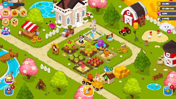 Game of Farmers : Idle games