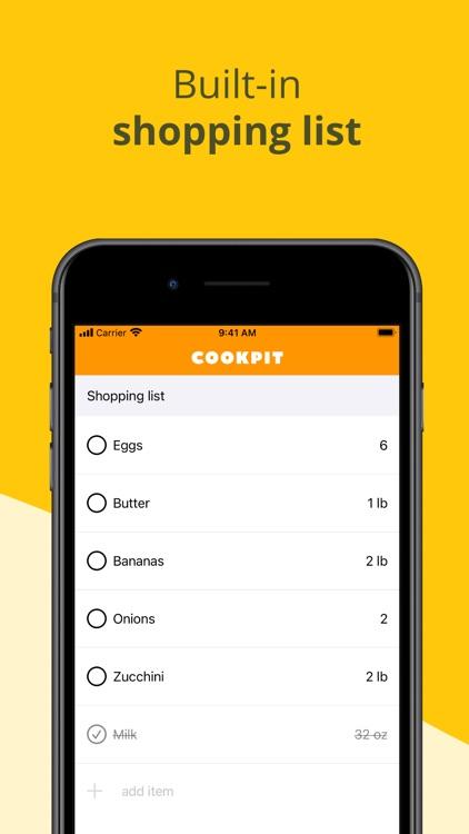 Cookpit screenshot-3