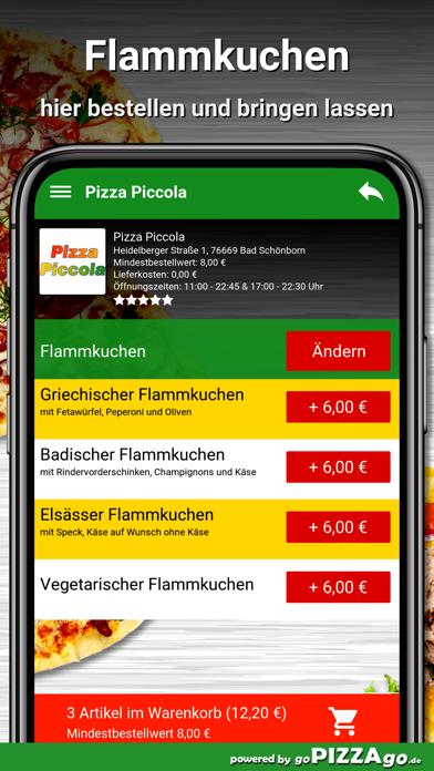 Pizza Piccola Bad Schönborn screenshot 6