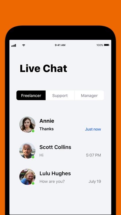 Hire Top Logo Designers Online screenshot-5