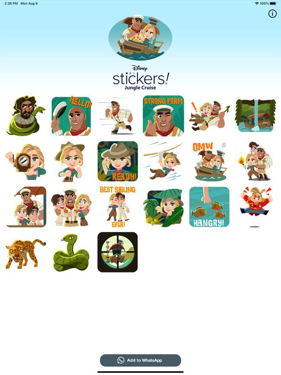 Jungle Cruise Stickers screenshot 5