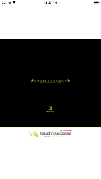 Adam's Fish Shack. screenshot 1