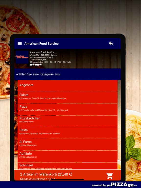 American Food Service Kamen screenshot 8