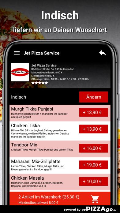 Jet Pizza Service Hohndorf screenshot 6