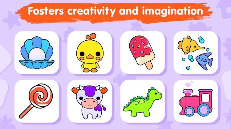 Kids coloring games for 3-5