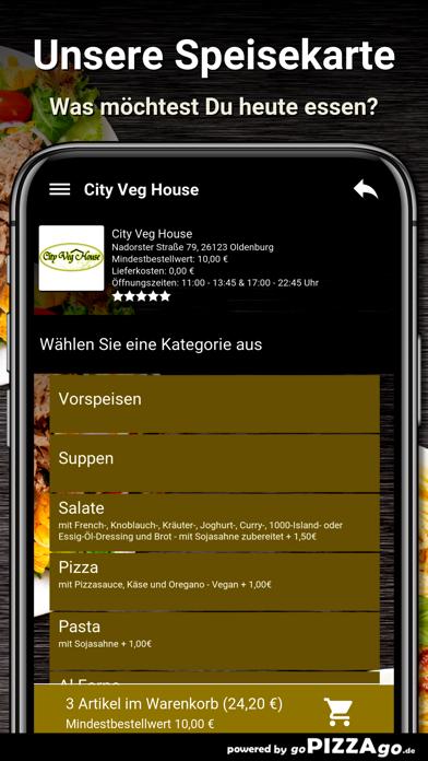 City Veg House Oldenburg screenshot 1