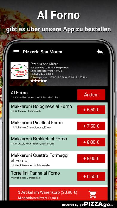 Pizzeria San Marco Bergkamen screenshot 6