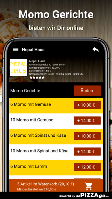 Nepal Haus Berlin screenshot 5