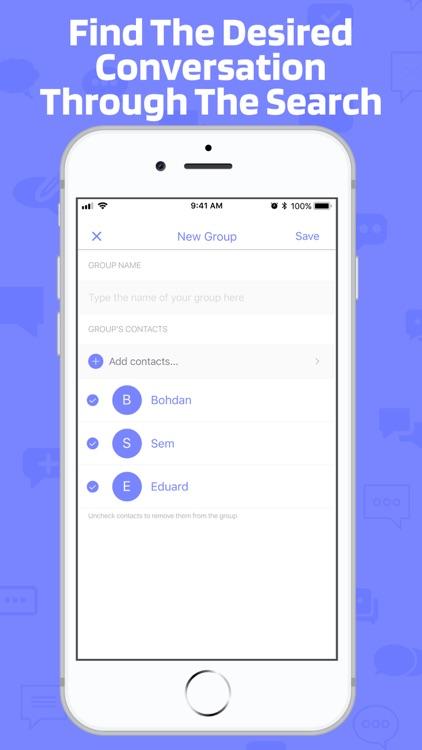 Contacts group screenshot-3