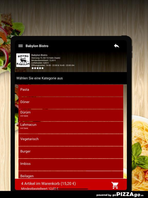 Babylon Bistro Halle (Saale) screenshot 8
