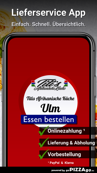 Titis Afrikanische Küche Ulm screenshot 1