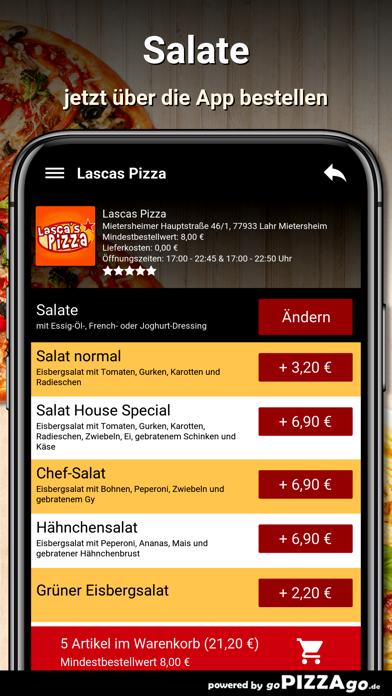 Lascas Pizza Lahr Mietersheim screenshot 5