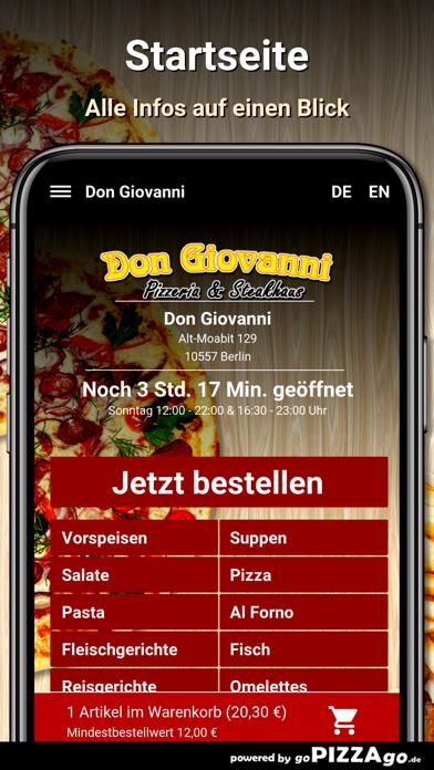 Don Giovanni Berlin screenshot 2