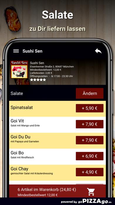 Sushi Sen München screenshot 2